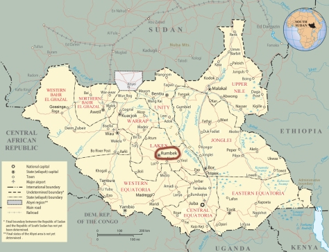 South Sudan became an independent nation on July 9, 2011.