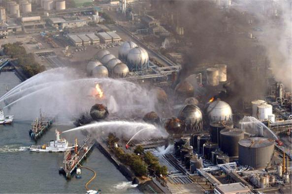 Reactors on fire